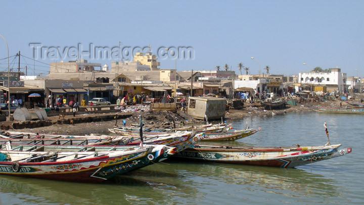senegal70: Senegal - Saint Louis: boats - Fishermen's Port - photo by G.Frysinger - (c) Travel-Images.com - Stock Photography agency - Image Bank