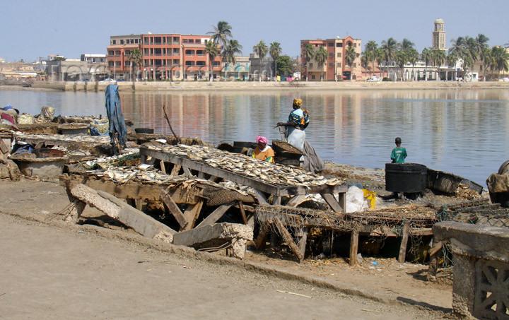 senegal73: Senegal - Saint Louis: fishermen village - photo by G.Frysinger - (c) Travel-Images.com - Stock Photography agency - Image Bank