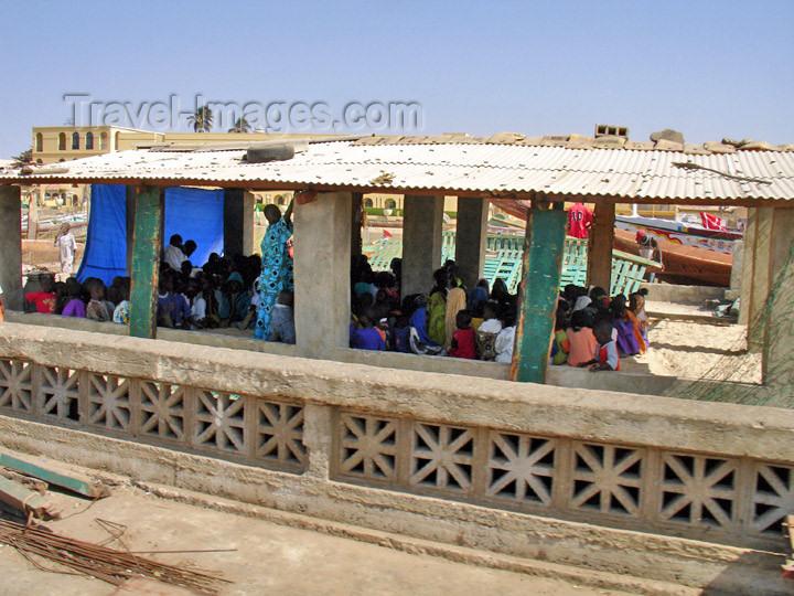senegal76: Senegal - Saint Louis: Koranic school - fisherman's village at Saint Louis - Madrasah - photo by G.Frysinger - (c) Travel-Images.com - Stock Photography agency - Image Bank