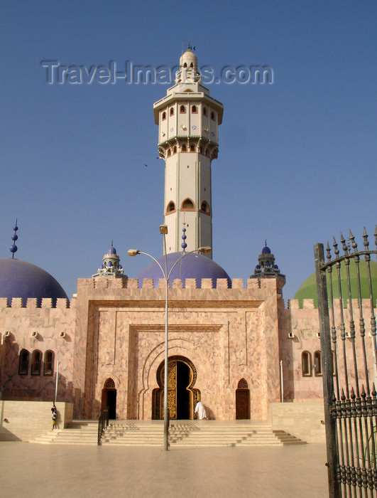 """senegal82: Senegal - Touba - Great mosque - 87-meter high central minaret, called """"Lamp Fall"""" -  photo by G.Frysinger - (c) Travel-Images.com - Stock Photography agency - Image Bank"""