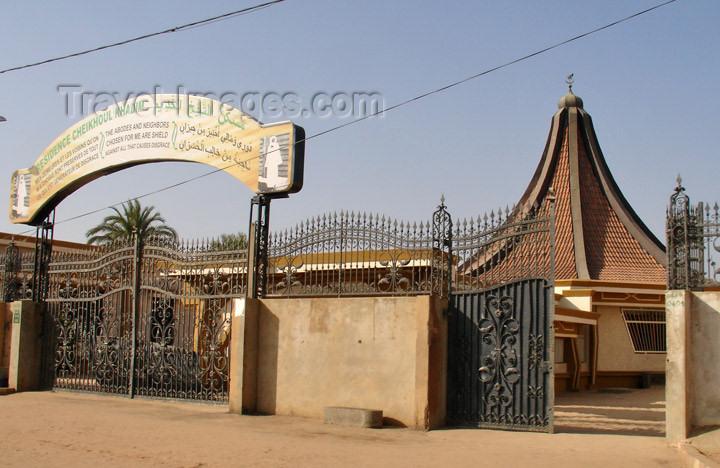 senegal92: Senegal - Touba: residence of the Grand Marabout, Serigne Saliou Mbacke - photo by G.Frysinger - (c) Travel-Images.com - Stock Photography agency - Image Bank