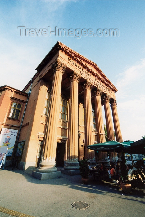serbia2: Serbia - Vojvodina - Subotica / Szabadka: neo-classical  - People's Theatre - Narodno Pozoriste / Nepszinhaz - architect János Skultéty - photo by M.Torres - (c) Travel-Images.com - Stock Photography agency - Image Bank