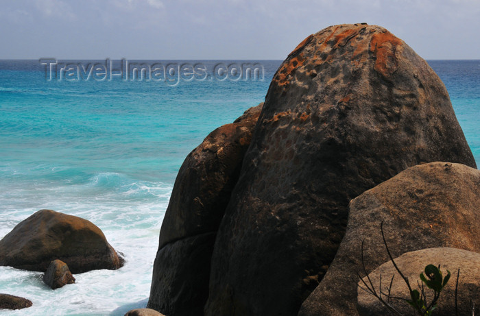 seychelles100: Mahe, Seychelles: Glacis - dome shaped rocks on the coast - photo by M.Torres - (c) Travel-Images.com - Stock Photography agency - Image Bank
