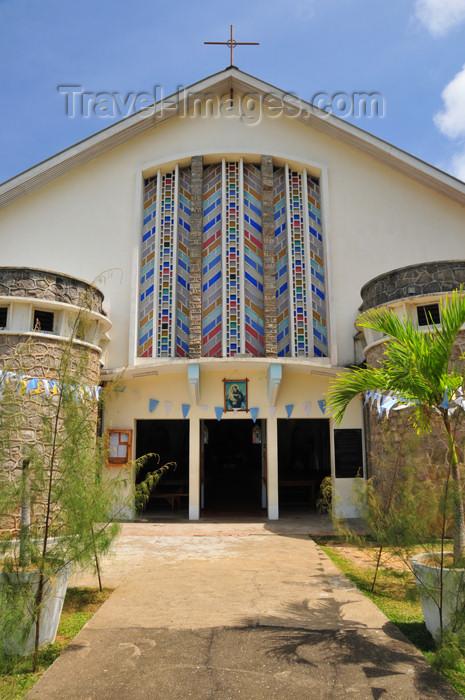 seychelles119: Mahe, Seychelles: Anse Etoile - Catholic church of St Anthony - photo by M.Torres - (c) Travel-Images.com - Stock Photography agency - Image Bank