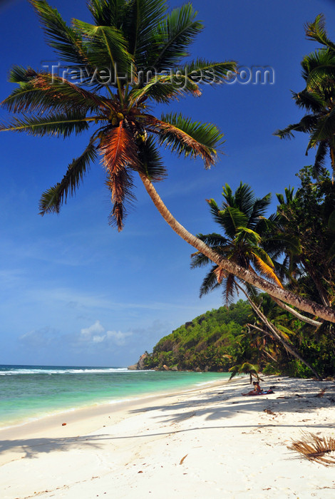 seychelles135: Mahe, Seychelles: Anse Baleine - perfect, yet empty beach - photo by M.Torres - (c) Travel-Images.com - Stock Photography agency - Image Bank