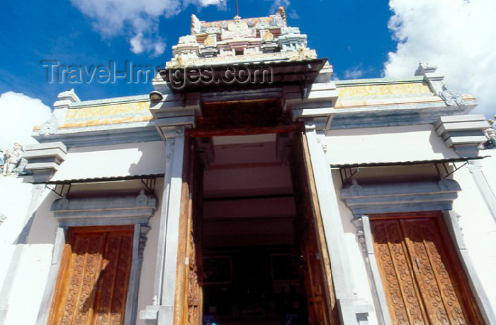 seychelles14: Mahe island, Seychelles: Victoria - Hindu temple - dedicated to Lord Vinayagar, the Hindu god of safety and prosperity - photo by F.Rigaud - (c) Travel-Images.com - Stock Photography agency - Image Bank