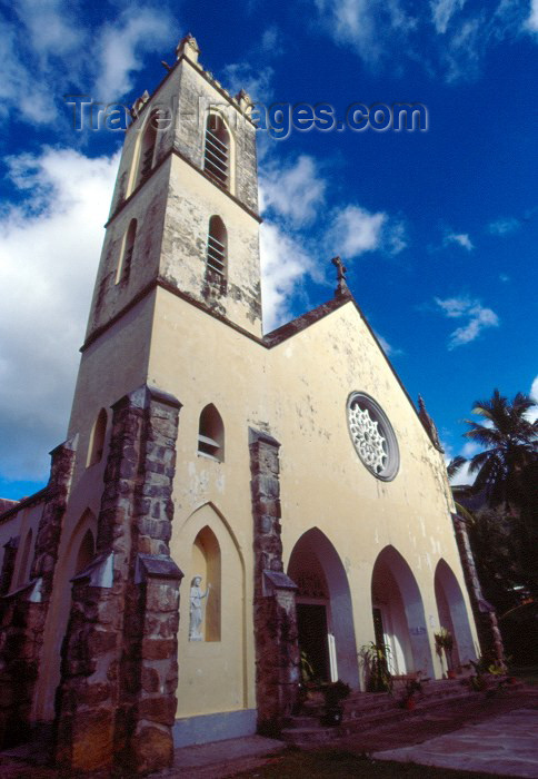 seychelles19: Seychelles - Mahe island: Bel Ombre - Church of St John the Baptist - photo by F.Rigaud - (c) Travel-Images.com - Stock Photography agency - Image Bank