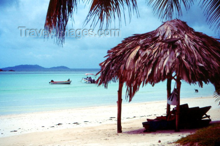 seychelles39: Seychelles - Praslin island: beach by the Paradise Sun hotel - photo by F.Rigaud - (c) Travel-Images.com - Stock Photography agency - Image Bank