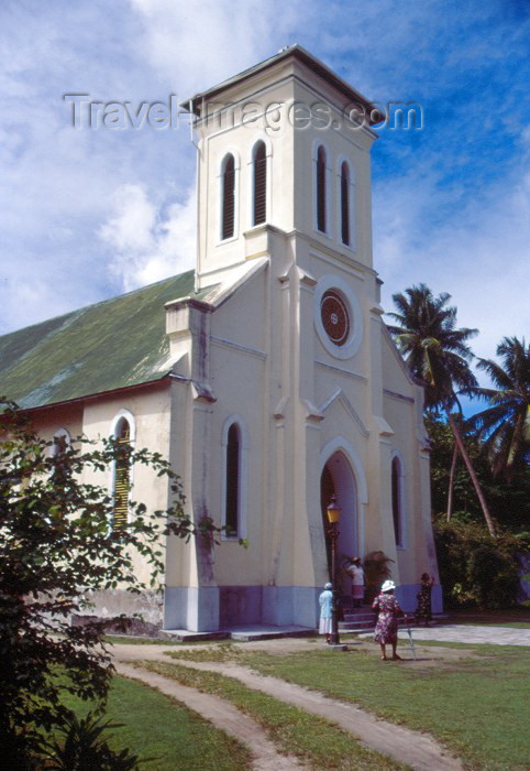 seychelles52: Seychelles - La Digue island: the Cathedral - photo by F.Rigaud - (c) Travel-Images.com - Stock Photography agency - Image Bank