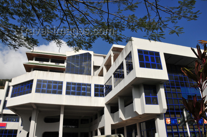 seychelles88: Mahe, Seychelles: Victoria - office building on Francis Rachel street - photo by M.Torres - (c) Travel-Images.com - Stock Photography agency - Image Bank