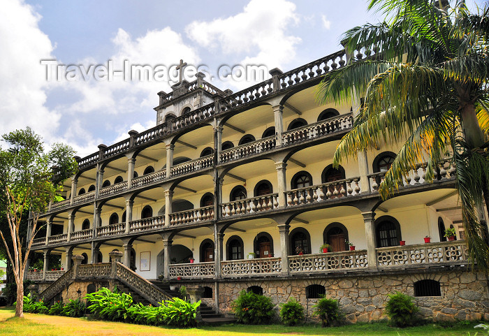 seychelles9: Mahe island, Seychelles: Victoria - the Bishop's residence - Oliver Marandan St. - photo by M.Torres - (c) Travel-Images.com - Stock Photography agency - Image Bank