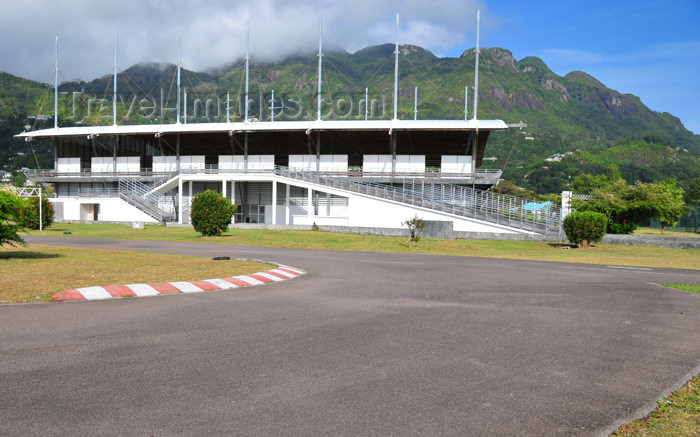 seychelles92: Mahe, Seychelles: Victoria - Roche Caimen sports complex - kart racing circuit - photo by M.Torres - (c) Travel-Images.com - Stock Photography agency - Image Bank