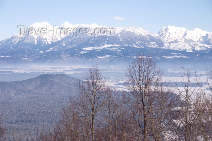 slovenia124: View from Smarna Gora mountain on the outskirts of Ljubljana, Slovenia - photo by I.Middleton - (c) Travel-Images.com - Stock Photography agency - Image Bank