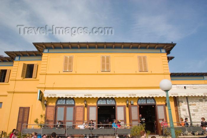 slovenia307: Slovenia - Piran: Caffe del Moro - photo by I.Middleton - (c) Travel-Images.com - Stock Photography agency - Image Bank