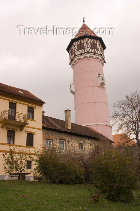 slovenia328: Slovenia - Water tower in Brezice - photo by I.Middleton - (c) Travel-Images.com - Stock Photography agency - Image Bank