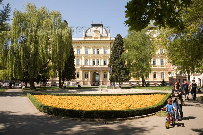 slovenia443: University of Maribor - Slomskov Trg, Maribor, Slovenia - photo by I.Middleton - (c) Travel-Images.com - Stock Photography agency - Image Bank