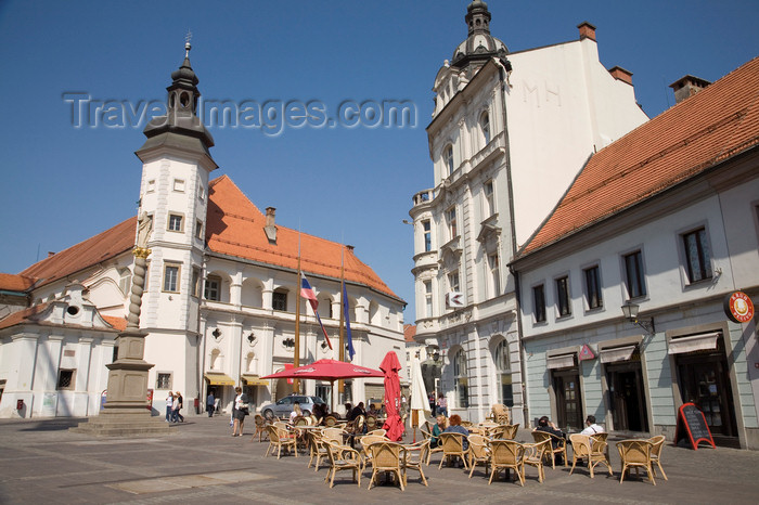 slovenia448: Grajski Trg, Castle and museum, Maribor, Slovenia - photo by I.Middleton - (c) Travel-Images.com - Stock Photography agency - Image Bank