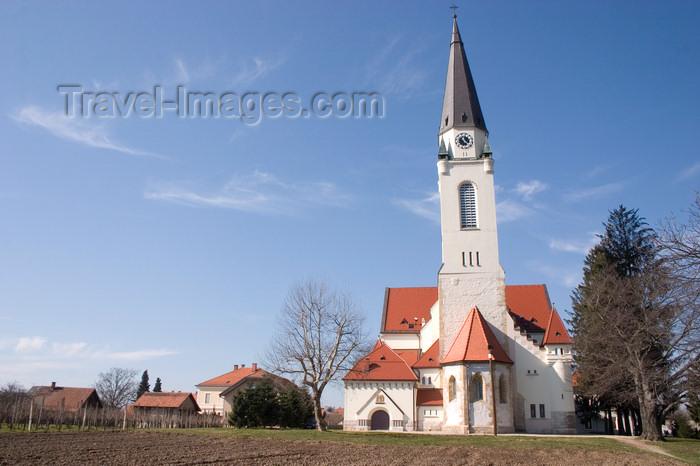 slovenia509: Church of Saint Nicholas - Cerkev Sv. Nikolaja - Murska Sobota / Olsnitz / Muraszombat, Prekmurje, Slovenia - photo by I.Middleton - (c) Travel-Images.com - Stock Photography agency - Image Bank