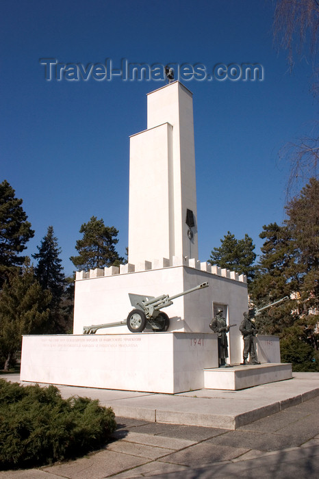 slovenia512: Liberation monument in Murska Sobota - the town was under Hungarian control from 1941 till 1945, Prekmurje, Slovenia - photo by I.Middleton - (c) Travel-Images.com - Stock Photography agency - Image Bank