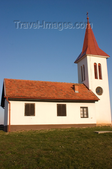 slovenia522: Rural church , Prekmurje , Slovenia - photo by I.Middleton - (c) Travel-Images.com - Stock Photography agency - Image Bank