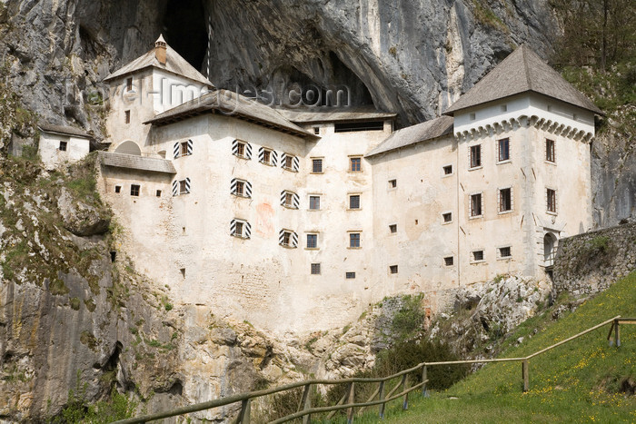 slovenia526: Predjama castle - wedged tight into a crevasse, Slovenia - photo by I.Middleton - (c) Travel-Images.com - Stock Photography agency - Image Bank