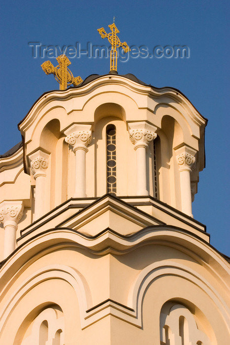 slovenia54: Serbian Orthodox church of St Cyril and Methodius - detail, Ljubljana, Slovenia - photo by I.Middleton - (c) Travel-Images.com - Stock Photography agency - Image Bank