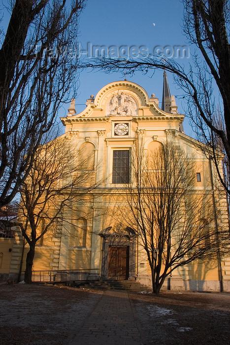slovenia66: Church of Saint James, Ljubljana, Slovenia - photo by I.Middleton - (c) Travel-Images.com - Stock Photography agency - Image Bank