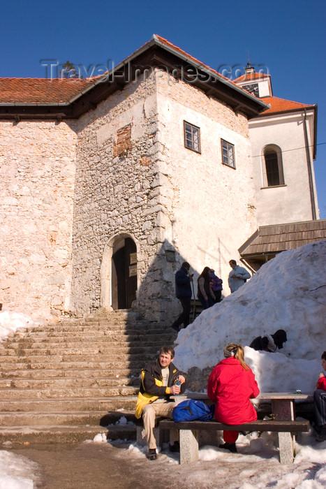 slovenia68: 667 metres above sea level - Smarna Gora mountain on the outskirts of Ljubljana, Slovenia - photo by I.Middleton - (c) Travel-Images.com - Stock Photography agency - Image Bank