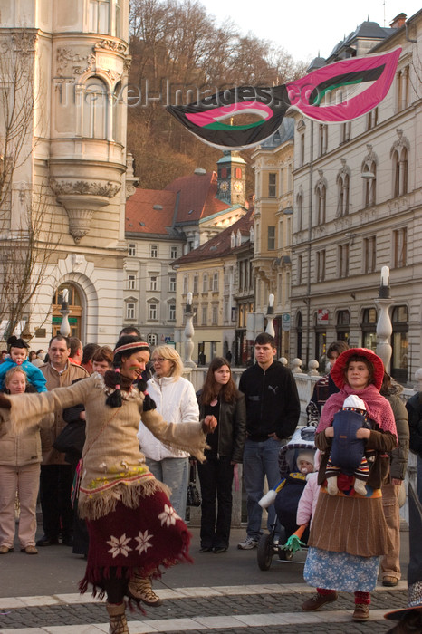 slovenia725: Slovenia - Ljubliana: Pust,  a holiday celebrated 40 days before Easter - Shrove Tuesday - Mardi Gras - Carnival - photo by I.Middleton - (c) Travel-Images.com - Stock Photography agency - Image Bank
