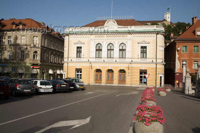 slovenia731: Slovenia - Ljubliana: Philharmonic Academy - Philharmonic Hall, Kongresni trg - filharmonija - photo by I.Middleton - (c) Travel-Images.com - Stock Photography agency - Image Bank