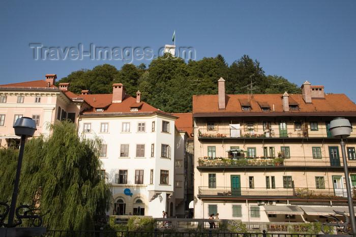 slovenia734: Slovenia - Ljubliana: along the Ljubljanica River - photo by I.Middleton - (c) Travel-Images.com - Stock Photography agency - Image Bank