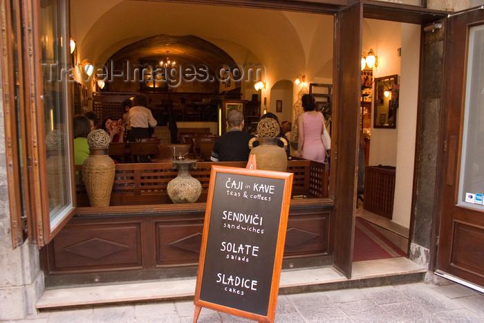 slovenia90: Cajna Hisa tea house in Ljubljana, Slovenia - photo by I.Middleton - (c) Travel-Images.com - Stock Photography agency - Image Bank