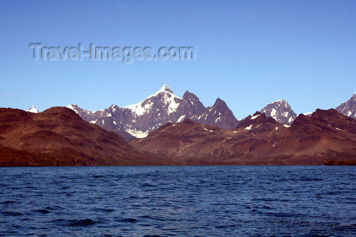 south-georgia182: South Georgia - sierras - Antarctic region images by C.Breschi - (c) Travel-Images.com - Stock Photography agency - Image Bank