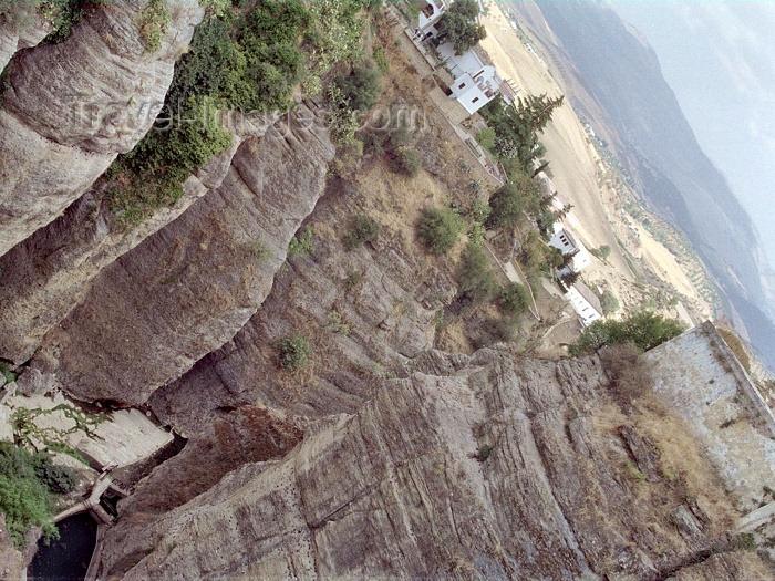 spai177: Spain / España - Ronda  (Andalucia - provincia de Malaga): El Tajo gorge - photo by M.Bergsma - (c) Travel-Images.com - Stock Photography agency - Image Bank