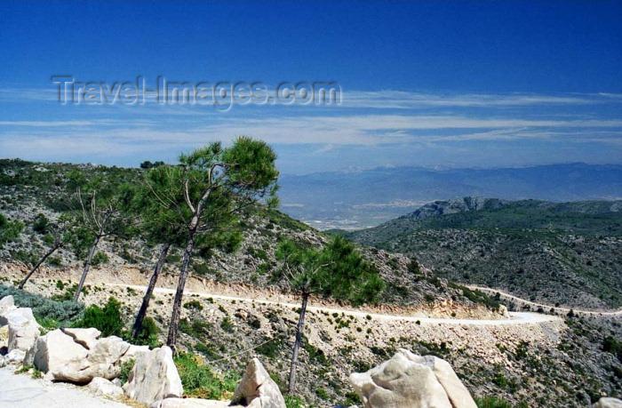 spai195: Spain / España - Benalmádena  (provincia de Malaga - Costa de Sol): Andalucian mountains from Monte Calamorro - photo by D.Jackson - (c) Travel-Images.com - Stock Photography agency - Image Bank