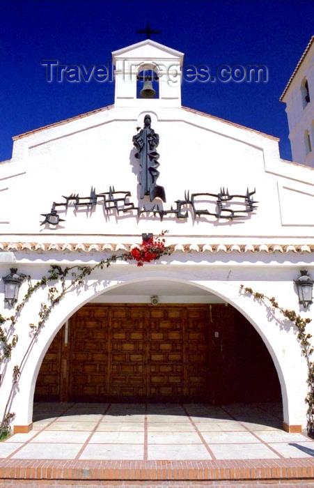 spai198: Spain / España - Arroyo de la Miel  (provincia de Malaga - Costa de Sol): church - Parroquia de la Immaculata Concepción - photo by D.Jackson - (c) Travel-Images.com - Stock Photography agency - Image Bank