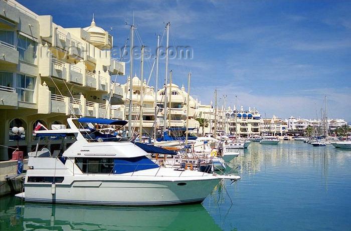 spai201: Spain / España - Benalmádena Costa  (provincia de Malaga - Costa de Sol): marina / Puerto Deportivo - photo by D.Jackson - (c) Travel-Images.com - Stock Photography agency - Image Bank