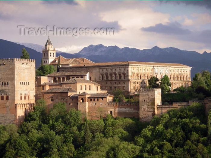 spai206: Spain / España - Granada: the Alhambra - Unesco world heritage site  - photo by R.Wallace - (c) Travel-Images.com - Stock Photography agency - Image Bank