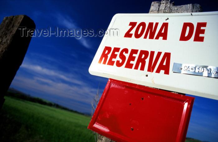 spai277: Spain - Cadiz - reservation zone - signal - photo by K.Strobel - (c) Travel-Images.com - Stock Photography agency - Image Bank