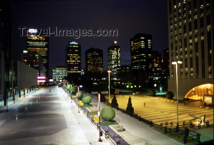 spai290: Spain - Madrid: urban view of Azca - financial district - photo by K.Strobel - (c) Travel-Images.com - Stock Photography agency - Image Bank