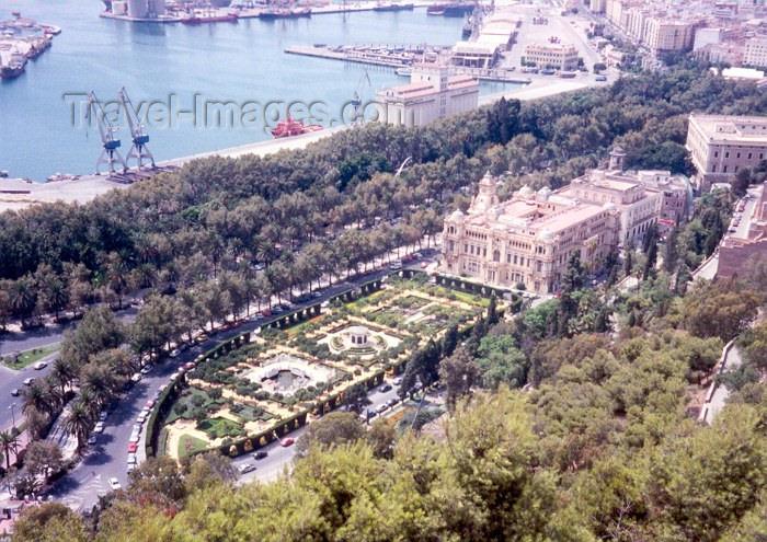 spai4: Spain / España - Malaga / AGP : by the port - el puerto - paseo del Parque de Gibralfaro (Andalucia - Costa del Sol - (c) Travel-Images.com - Stock Photography agency - Image Bank