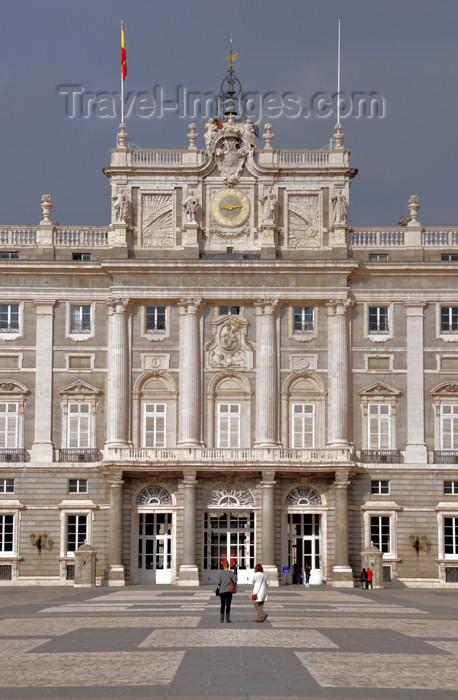 spai444: Spain / España - Madrid: Royal Palace / Palacio Real - south façade - photo by M.Torres - (c) Travel-Images.com - Stock Photography agency - Image Bank