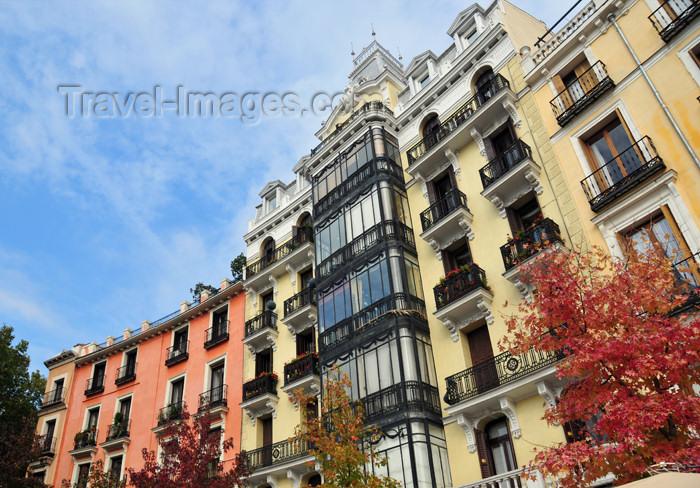 spai468: Madrid, Spain: XIX century façade on Plaza de Oriente - photo by M.Torres - (c) Travel-Images.com - Stock Photography agency - Image Bank