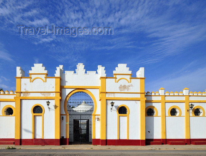 spai477: Ayamonte, Huelva, Andalucia, Spain: Moorish façade on the N-431- photo by M.Torres - (c) Travel-Images.com - Stock Photography agency - Image Bank
