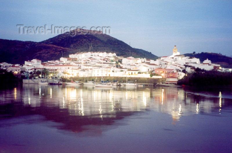 spai60: Spain / España - Sanlucar de Guadiana (provincia de Huelva): from Alcoutim - at dusk - photo by M.Torres - (c) Travel-Images.com - Stock Photography agency - Image Bank