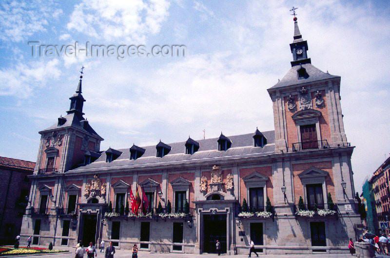 spai90: Spain / España - Madrid: Casa de la Villa, city hall / Ayuntamiento - Plaza de la Villa - designed by Juan Gómez de Mora - photo by M.Torres - (c) Travel-Images.com - Stock Photography agency - Image Bank
