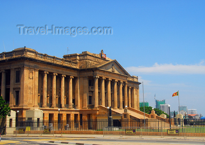 sri-lanka15: Colombo, Sri Lanka: Presidential Secretariat - Old Parliament Building - Marine drive - Fort - photo by M.Torres - (c) Travel-Images.com - Stock Photography agency - Image Bank