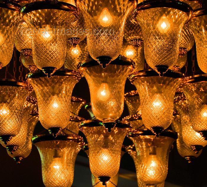 sri-lanka170: Colombo, Sri Lanka: chandelier - lobby of the Hilton Hotel - photo by M.Torres - (c) Travel-Images.com - Stock Photography agency - Image Bank
