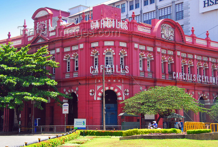 sri-lanka182: Colombo, Sri Lanka: Cargills (Ceylon) - Department Stores - protected building at the corner of York street and Sir Baron Jayatilake Mawatha - Fort - photo by M.Torres - (c) Travel-Images.com - Stock Photography agency - Image Bank
