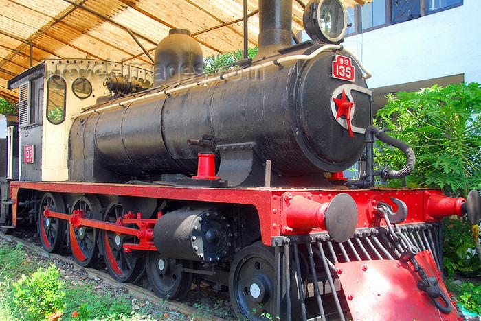 sri-lanka205: Colombo, Sri Lanka: Class B9 Steam Locomotive - Colombo Fort Railway Station - photo by M.Torres - (c) Travel-Images.com - Stock Photography agency - Image Bank